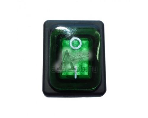 Переключатель влагостойкий 3INB4MASK48N1E21 зелёный для КПЭМ/ШРТ 120000060541