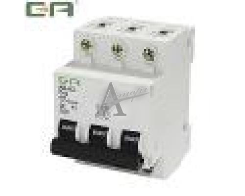 Фотография Автоматический выключатель AB-63 10А 3п 6
