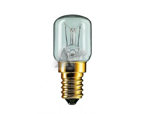 Лампа накаливания мини цоколь 25W 220В (холодильник укороч)