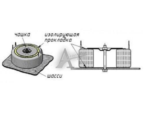 фотография Трансформатор ТТП-10 (тароид) 220х45х10х4В 2