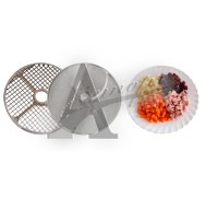 фотография Набор(решетка+нож) для нарезки кубиками 10х10х10 МПР 13