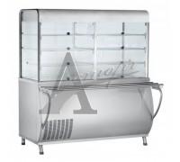 Прилавок-витрина холодильный ПВВ(Н)-70М-С-НШ с гастроёмкостями