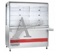 фотография Прилавок-витрина холодильный ПВВ(Н)-70КМ-С-03-НШ вся нерж. 13