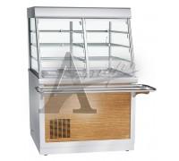 фотография Витрина холодильная Abat ПВВ(Н)-70Х-С-НШ 4
