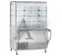 фотография Прилавок-витрина холодильный ПВВ(Н)-70М-С-01-НШ с гастроёмкостями 14