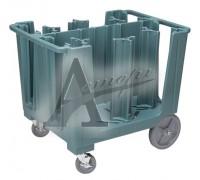 фотография Тележка для тарелок Cambro ADCS 401 синевато-серый 12