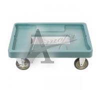 фотография Тележка для термоконтейнера Cambro CD400 401 синевато-серая 13