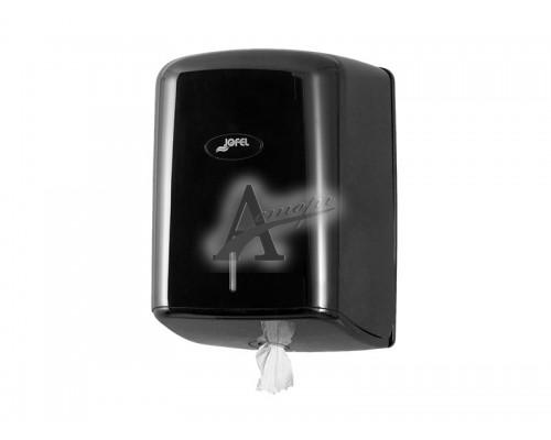 фотография Диспенсер, дозатор Jofel для полотенец с центральной вытяжкой AG47600 (черный) 5