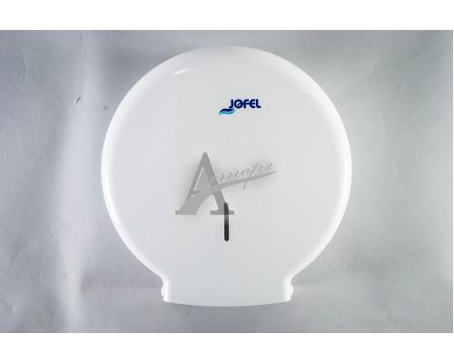 фотография Диспенсер, дозатор Jofel для туалетной бумаги AE51000 (300м, белый) 14