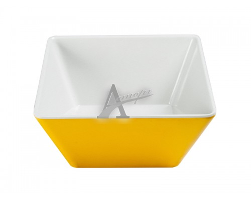 Фотография  Салатник Pujadas 22200AM (квадратный, 9x9 см, h5.5 см, желтый) 6