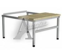фотография Скамья-подставка СК -800 для шкафов ШГС-1850/800 1
