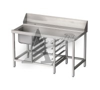 фотография Стол и аксессуар для посудомоечной машины Vortmax СВ15075ВХП 10