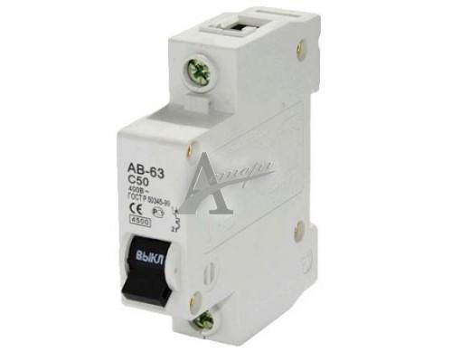 фотография Автоматический выключатель AB-63 1